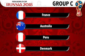 Group C - Russia world cup 2018