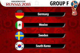 Group F - Russia World Cup 2018
