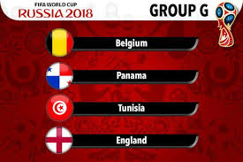 Group G - Russia World Cup