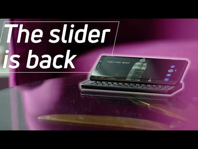 FxTec Pro1 hands-on: Can the slider phone make a comeback?