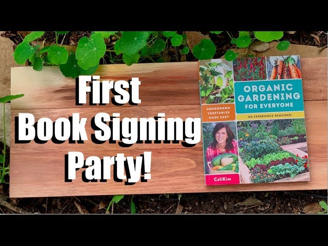 First Book Signing  Party!