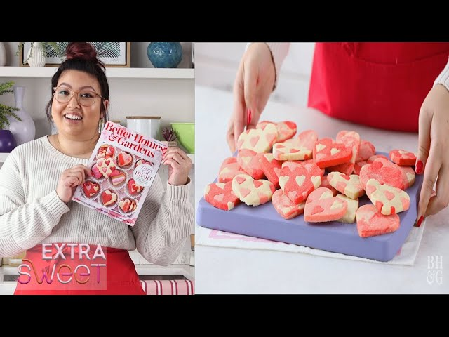 Patchwork Valentine's Day Cookies   Extra Sweet   Better Homes & Gardens